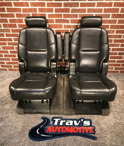 2010 Gmc Yukon Denali Cadillac Escalade Tahoe 2nd Row Bucket Seats Heated