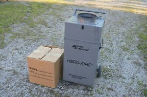Abatement Technologies Hepa aire Pas 1000 Portable Air Scrubber W 48 Ft Of Hose