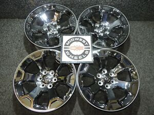 2019 2020 Dodge Ram 1500 20 Factory Oe Chrome Clad Wheels New Take Offs L