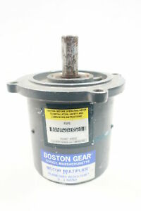 Boston Gear Fps5 Motor Multiplier Gear Head 7 8in 5 1