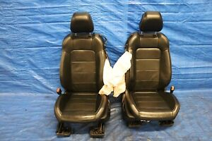 2015 Ford Mustang 2 3l Ecoboost Turbo Oem Leather Lh Rh Front Seat Damage 1227