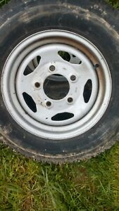 Land Rover Discovery Defender Range Rover Classic Steel Wheel Ntc5193