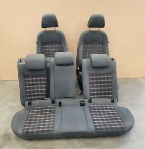 07 09 Volkswagen Gti 4 Door Front Right Left Rear Complete Seat Set 457 Oem