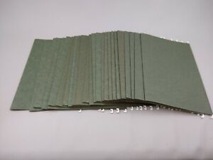 Lot Of 25 Legal Size Hanging File Folders