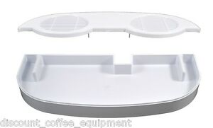 Bunn 28086 0000 Lower White Drip Tray Assembly And Bunn 32068 0000 Cover Ultra 2