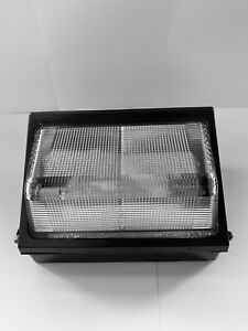 WALL PACK 150W COMMERCIAL LIGHT HID PSMH Dark Bronze 12500lms Volts 120 To 277 $39.00