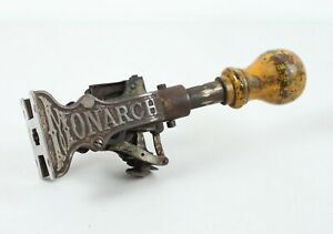 Antique Monarch Marking Company Price Stamp Gun Cast Iron Patent 1885