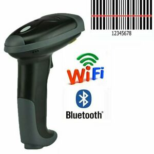 Wireless Bluetooth Barcode Scanner Usb Connector Automatic Laser Bar Code Reader