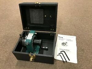 Harig Grind All Number 1 No 1 Rotary Grinding Fixture Atco 010 100 Starrett
