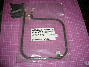 Electric Heating Element 120vac 6 1 4x6 1 4 750 Watt Great Working Condition