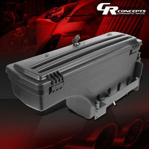 Left Driver Side Truck Bed Wheel Well Storage Tool Box For 2002 2018 Dodge Ram