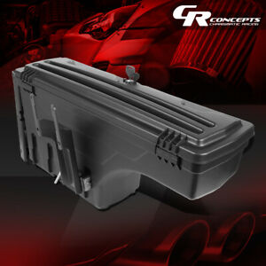Passenger Side Truck Bed Wheel Well Storage Tool Box For 2015 2020 Ford F 150