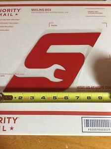 Snap On Red S Magnetic Logo