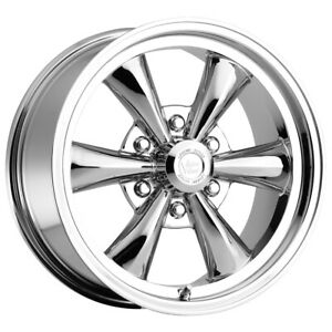 4 vision 141 Legend 6 17x8 6x5 5 19mm Chrome Wheels Rims 17 Inch