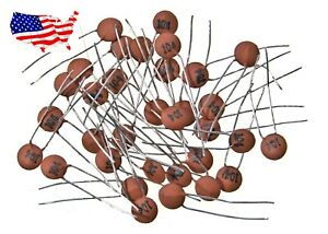 50v 1pf 100nf 20 Pcs Ceramic Disc Capacitor From Usa