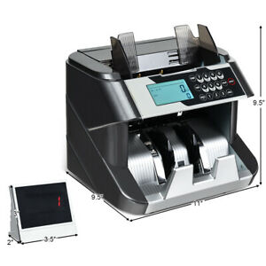 Money Counter Machine Value Counting With Uv Mg Ir Dd Counterfeit Bill Detection