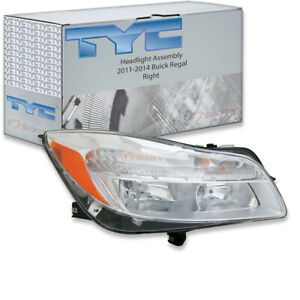 Tyc Right Headlight Assembly For 2011 2014 Buick Regal Fn