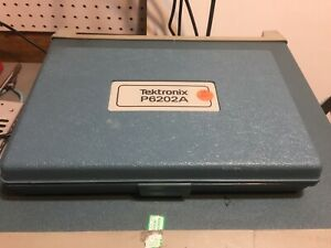 Tektronix P6202a 500mhz Oscilloscope Probe Fet With Manual
