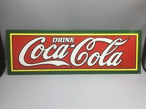 Replica 1927 COCA COLA FOUNTAIN SERVICE SODA POP ADVERTISING SIGN Hanover