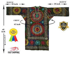 Original Embroidery Uzbek Vintage Suzani Robe Dress Jacket Sale Was 159 00