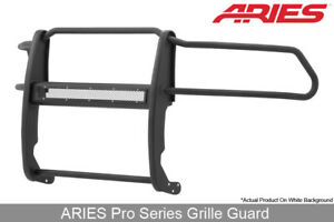 Aries Pro Series Textured Blk Grille Brush Guard 1pc For 2009 19 Dodge Ram 1500