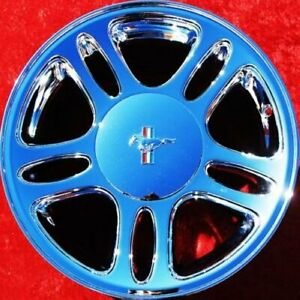 Set Of 4 Chrome 17 Ford Mustang Gt Oem Factory Wheels Rims 3174