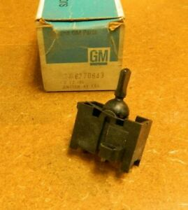 Nos 1971 76 Chevrolet Impala Caprice Convertible Top Switch 6270643