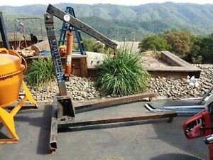 Southern Engine Hoist Cherry Picker 3 Ton Manual Jack 6000 Commercial