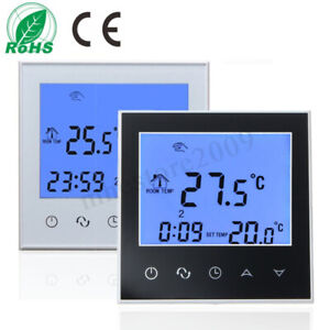 Digital Heating Programmable Thermostat Temperature Controller Lcd Display