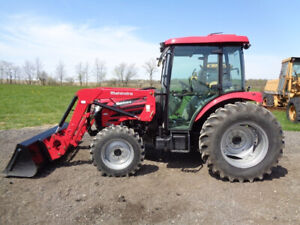 2017 Mahindra 2565 Tractor Cab heat air 4wd 2565cl Loader Ssl Qa Only 47 Hrs