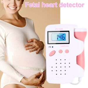 Fda Handheld Fetal Doppler Fetus Heart Rate Monitor With Batteries 3 0 Mhz Probe