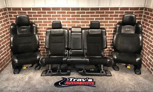 2012 Jeep Grand Cherokee Srt8 Front Rear Leather Suede Heated Seats Power