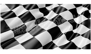 Personalized Monogrammed Custom License Plate Auto Car Tag Flag Racing