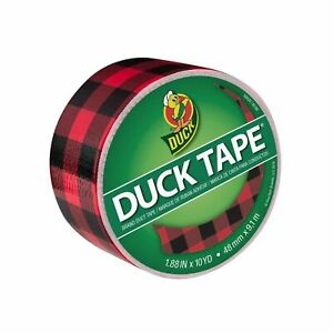 Duck Tape Pattern Colours Buffalo Plaid Repair Craft Personalise Decorate
