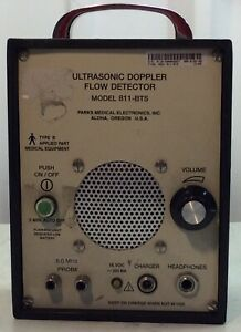 Ultrasonic Doppler Flow Detector Model 811 bts