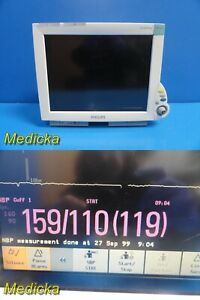 Philips Intellivue Mp60 m8005a Monitor W o Mms Module Or Leads tested 21573