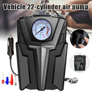 Tire Inflator Car Air Pump Compressor Auto 150psi Electric Portable Dc 12v Tool