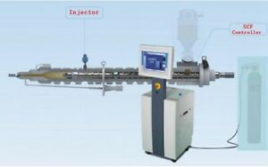 Super critical Fluid Foaming System used In Injection Moulding Machine