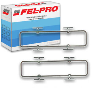 Fel Pro Valve Cover Gasket Set For 1968 1974 Chevrolet P20 Van Felpro Bo