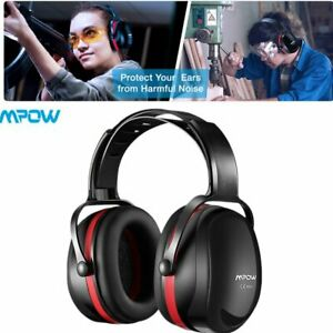 Mpow Folding Ear Defenders Snr 36db Protectors Hearing Safety Adult Ear Muffs