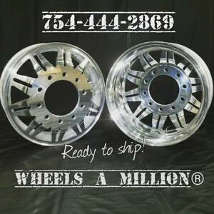 22 22 5 And 24 Alcoa Custom Tribe Dually Rims Dually Wheels Custom