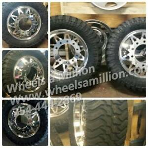 22 22 5 And 24 Alcoa Custom Indiana Dually Rims Dually Wheels Custom