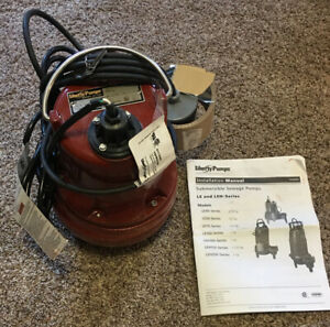 Liberty 1 2 Hp Auto Submersible Sewage Pump 2 Discharge Le51a new Open Box