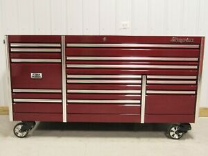Snap On Cranberry 84 Epiq All Drawer Power Drawer Tool Box Toolbox