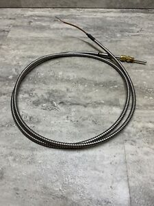 K Type Thermocouple Insertion Sensor W Stainless Steel Housing 3 Long New