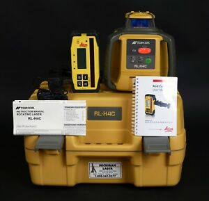 Topcon Rl h4c Rotary Laser W Leica Receiver New Lowered Price