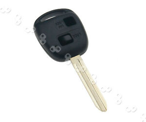 Replacement Of 2 Button Remote Key Fob Case For Toyota Corolla Yaris