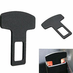 Universal Safety Seat Belt Buckle Alarm Stopper Eliminator Clip Car Accessory