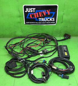 Fisher 3 Plug Snow Plow Wiring Harness Chevy Gmc 99 02 4 Port 26401 Western