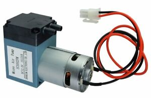 12 V Dc Single Diaphragm Head Pressure Vacuum Pump 10 L min 29 Psi Max